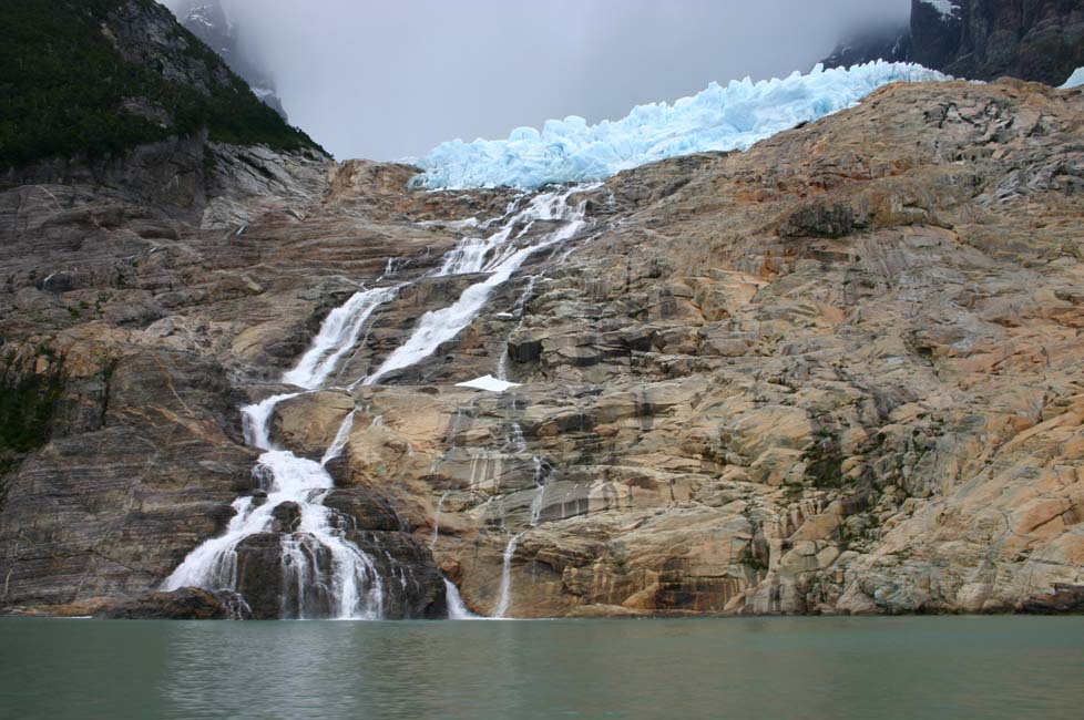 Le grand glacier de Balmaceda