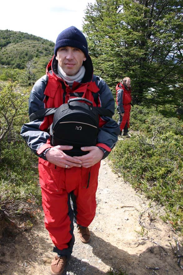 On a marché sur... les montagnes patagones.